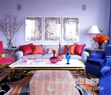 Дизайн комнаты детской-гостиной фото